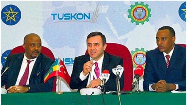 Ethiopian Prime Minister Acknowledged TUSKON  contribution  to his country's development.